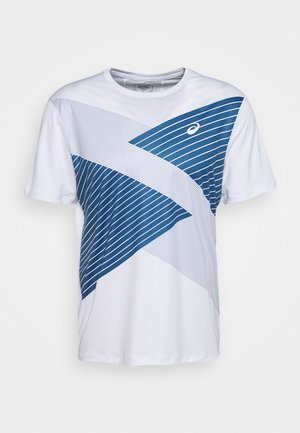 TOKYO - Camiseta estampada - brilliant white/grand shark