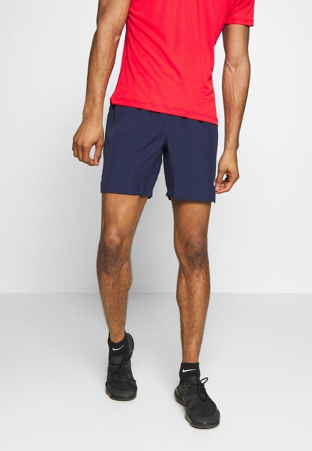 SILVER SHORT - Pantalón corto de deporte - peacoat