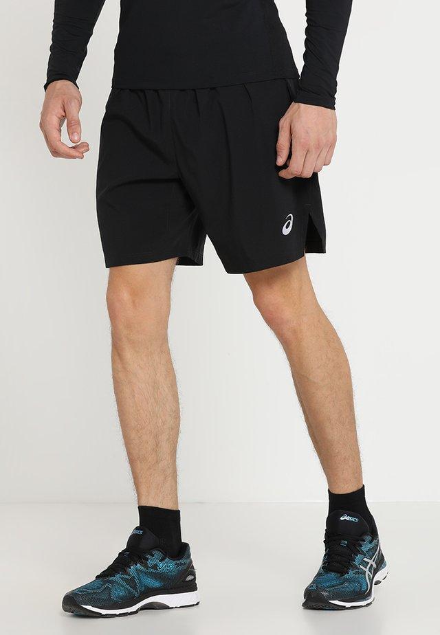 SILVER SHORT - Sports shorts - performance black