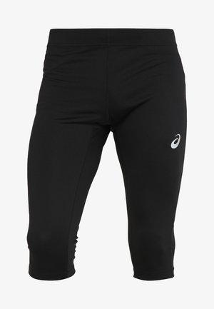 SILVER KNEE TIGHT - 3/4 sportovní kalhoty - performance black