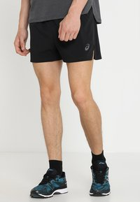 ASICS - SILVER SPLIT SHORT - Sports shorts - performance black - 0