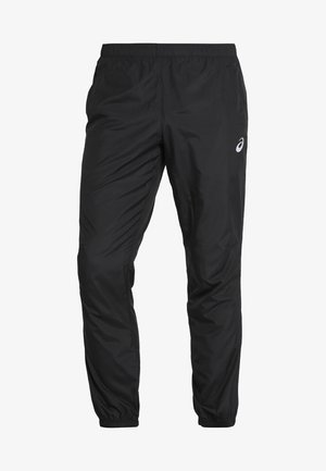 SILVER WOVEN  - Trousers - performance black