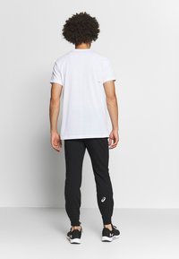 ASICS - BIG LOGO PANT - Tracksuit bottoms - performance black/brilliant white - 2
