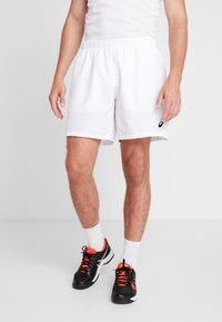 ASICS - CLUB SHORTS - Träningsshorts - brilliant white - 0