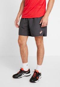 ASICS - CLUB SHORTS - Sportovní kraťasy - graphite grey - 0
