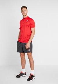 ASICS - CLUB SHORTS - Sportovní kraťasy - graphite grey - 1