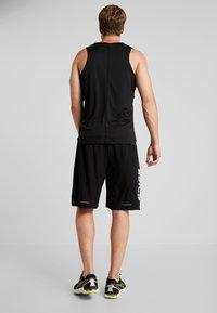 ASICS - SHORT - Sports shorts - performance black/brilliant white - 2