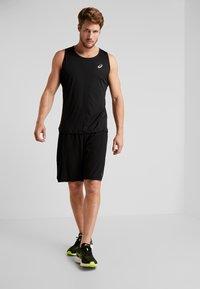 ASICS - SHORT - Sports shorts - performance black/brilliant white - 1