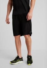 ASICS - SHORT - Sports shorts - performance black/brilliant white - 0