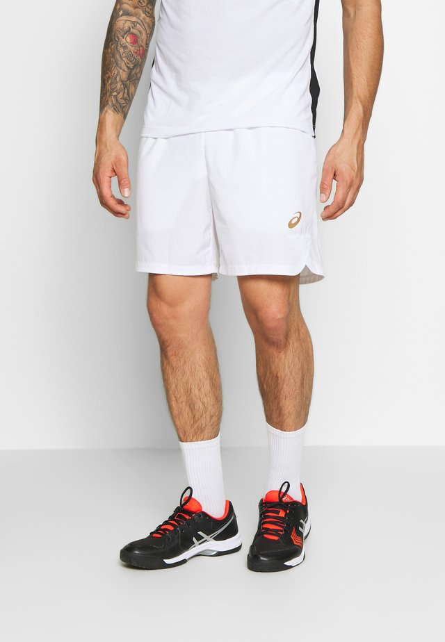 TENNIS SHORT - Pantalón corto de deporte - brilliant white