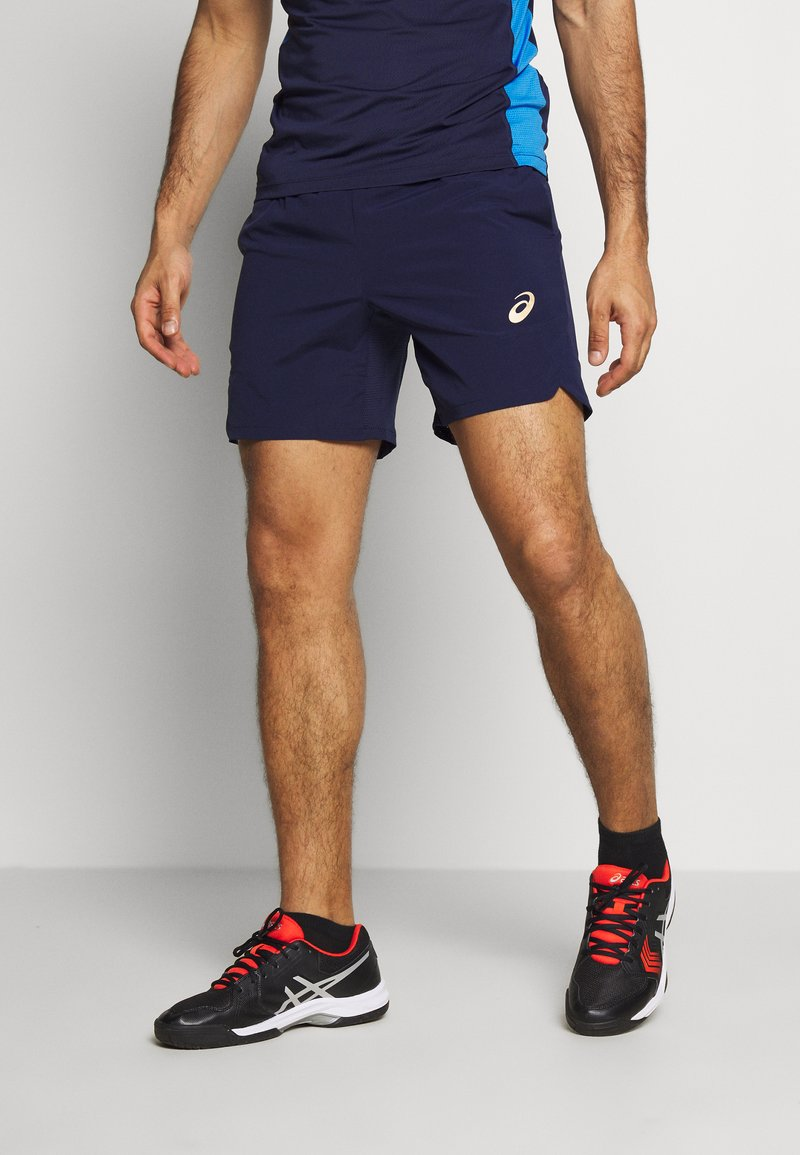 ASICS - TENNIS SHORT - Sports shorts - peacoat