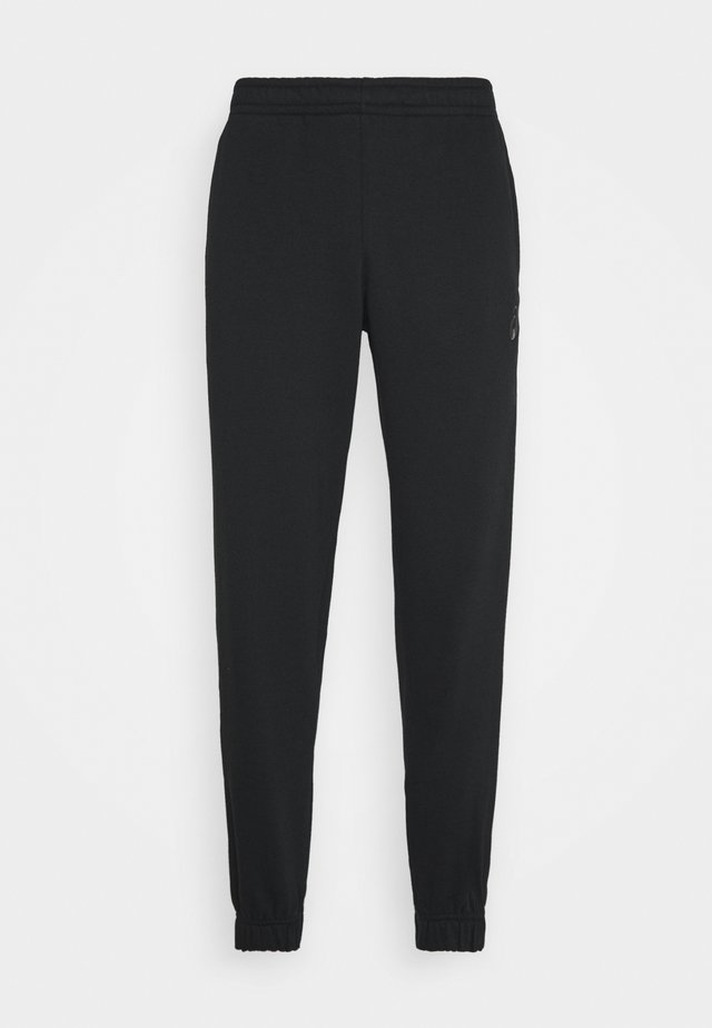 SMALL LOGO PANT - Spodnie treningowe - performance black