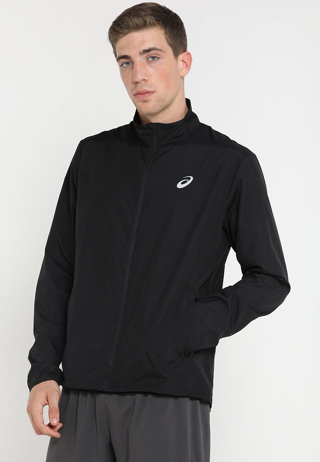 SILVER JACKET - Löparjacka - performance black