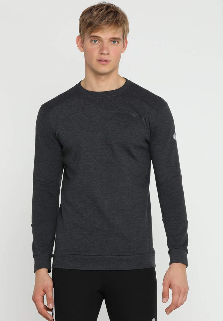 ASICS - TAILORED CREW - Sweatshirt - performance black heather
