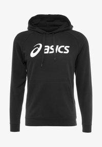 ASICS - BIG HOODIE - Bluza z kapturem - performance black/brilliant white - 4