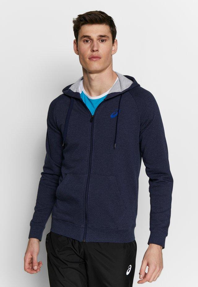 BIG  HOODIE - veste en sweat zippée - peacoat heather/blue
