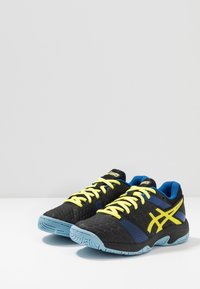 ASICS - GEL-BLAST 7 - Handball shoes - black/sour yuzu - 2