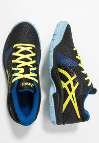ASICS - GEL-BLAST 7 - Handball shoes - black/sour yuzu - 1