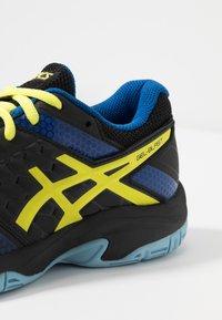 ASICS - GEL-BLAST 7 - Handball shoes - black/sour yuzu - 5