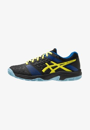 GEL-BLAST 7 - Handball shoes - black/sour yuzu