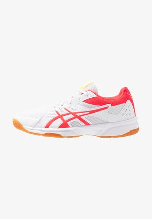 UPCOURT 3 - Scarpe da tennis per tutte le superfici - white/laser pink