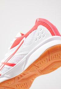 ASICS - UPCOURT 3 - Multicourt tennis shoes - white/laser pink - 5