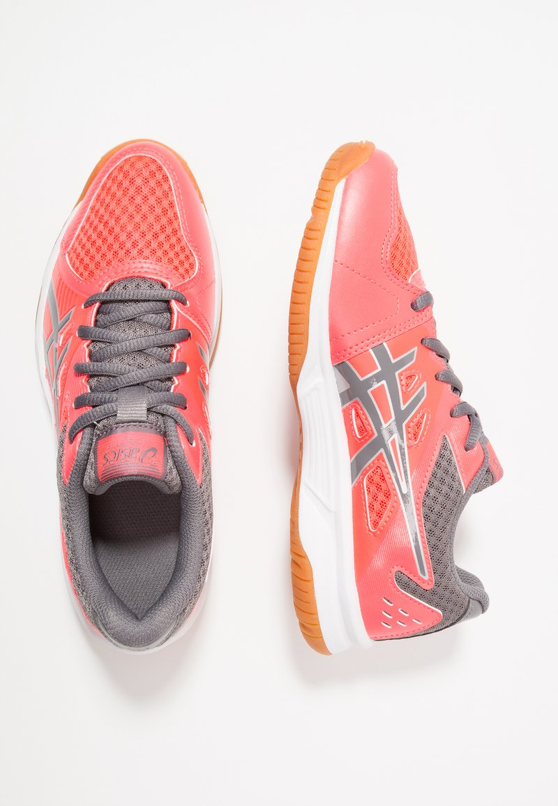ASICS - UPCOURT 3 - Chaussures de tennis toutes surfaces - diva pink/carbon