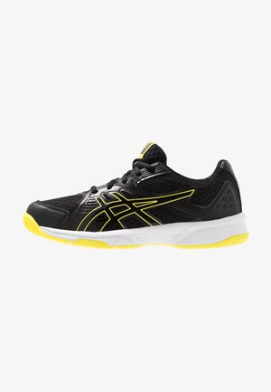 UPCOURT 3 - Tennisschoenen voor alle ondergronden - black/sour yuzu