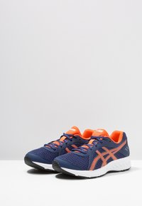 ASICS - JOLT 2 - Neutral running shoes - indigo blue/nova orange - 3