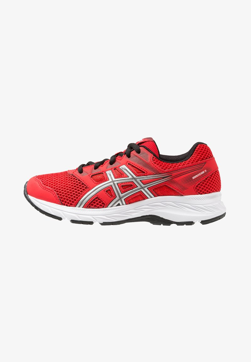 ASICS - CONTEND 5 - Laufschuh Neutral - classic red/silver