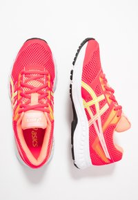 ASICS - CONTEND 5 - Chaussures de running neutres - laser pink/sour yuzu - 1