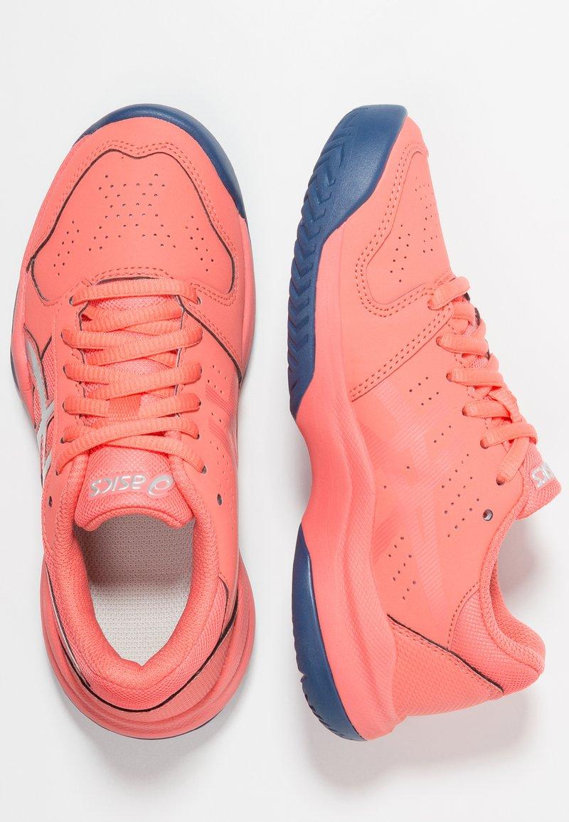 ASICS - GEL-GAME - Tenisové boty na antuku - papaya/silver