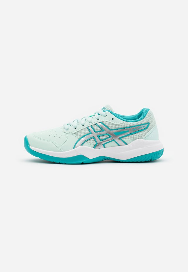 GEL-GAME - Chaussures de tennis pour terre-battueerre battue - bio mint/pure silver