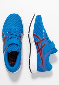 ASICS - PATRIOT 11 - Neutral running shoes - electric blue/speed red - 0
