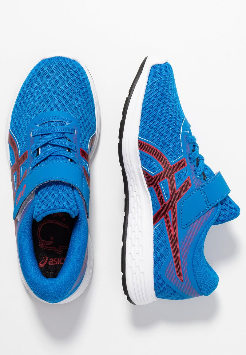 ASICS - PATRIOT 11 - Laufschuh Neutral - electric blue/speed red