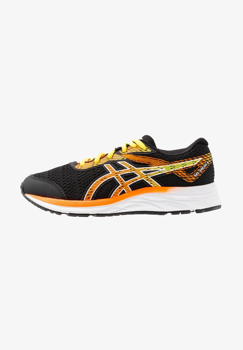ASICS - GEL-EXCITE 6 - Neutral running shoes - black/shocking orange