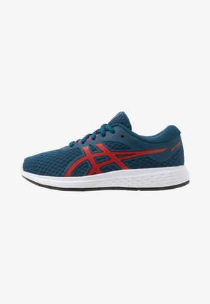 PATRIOT 11 - Neutral running shoes - mako blue/classic red