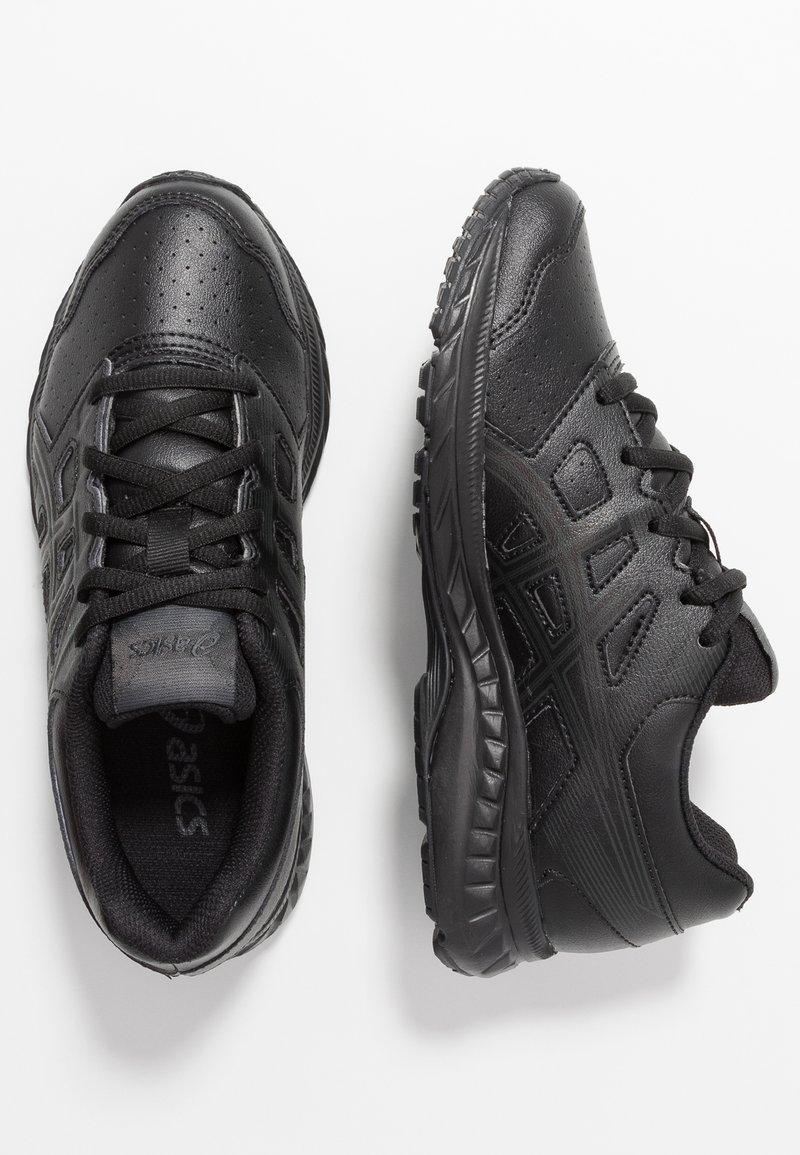 ASICS - CONTEND 5 - Neutrální běžecké boty - black/graphite grey