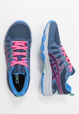 GEL-VENTURE 7 - Neutral running shoes - peacoat/hot pink