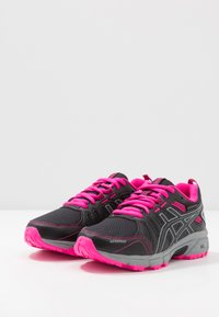 ASICS - GEL-VENTURE 7 WP - Neutral running shoes - black/sheet rock - 3