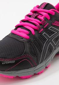 ASICS - GEL-VENTURE 7 WP - Neutral running shoes - black/sheet rock - 2