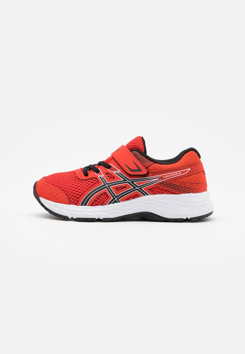 ASICS - CONTEND 6 - Zapatillas de running neutras - fiery red/black