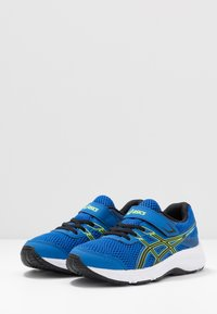 ASICS - CONTEND 6 - Neutral running shoes - tuna blue/black - 3