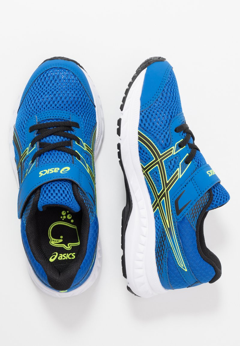 ASICS - CONTEND 6 - Neutral running shoes - tuna blue/black
