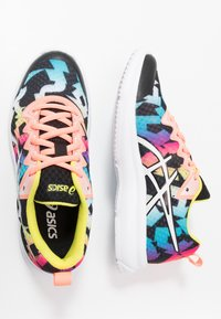 ASICS - SOULYTE - Neutral running shoes - black/sun coral - 0
