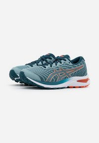 ASICS - GEL-CUMULUS 22  - Zapatillas de running neutras - light steel/magnetic blue - 1