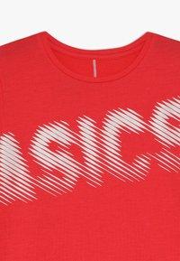 ASICS - T-shirt imprimé - laser pink - 4