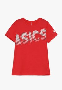 ASICS - T-shirt imprimé - laser pink - 0
