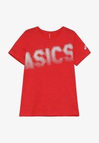 ASICS - T-shirt imprimé - laser pink - 3