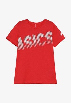 T-shirt print - laser pink
